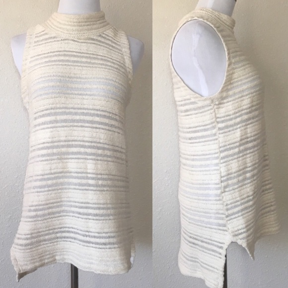 Anthropologie Tops - Consignment Anthropologie Dolan Natural Knit Tank